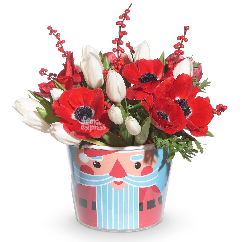 Букет «Flora Express», Новогоднее чудо