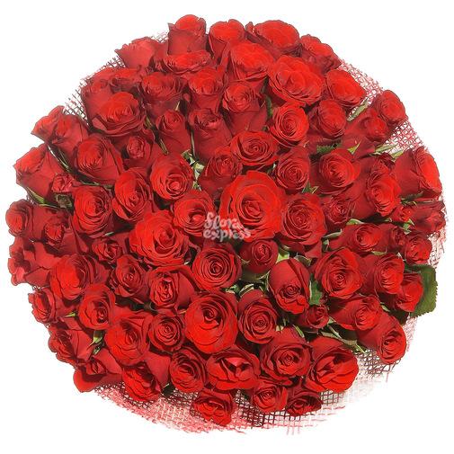 101 роза - изображение букета 2