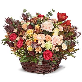 Букет Freedom: Розы и орхидеи