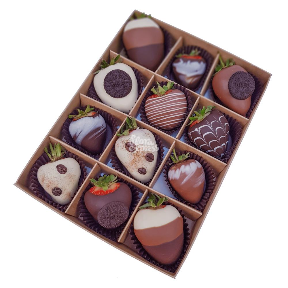 Букет «Flora Express», Клубника в шоколаде 3