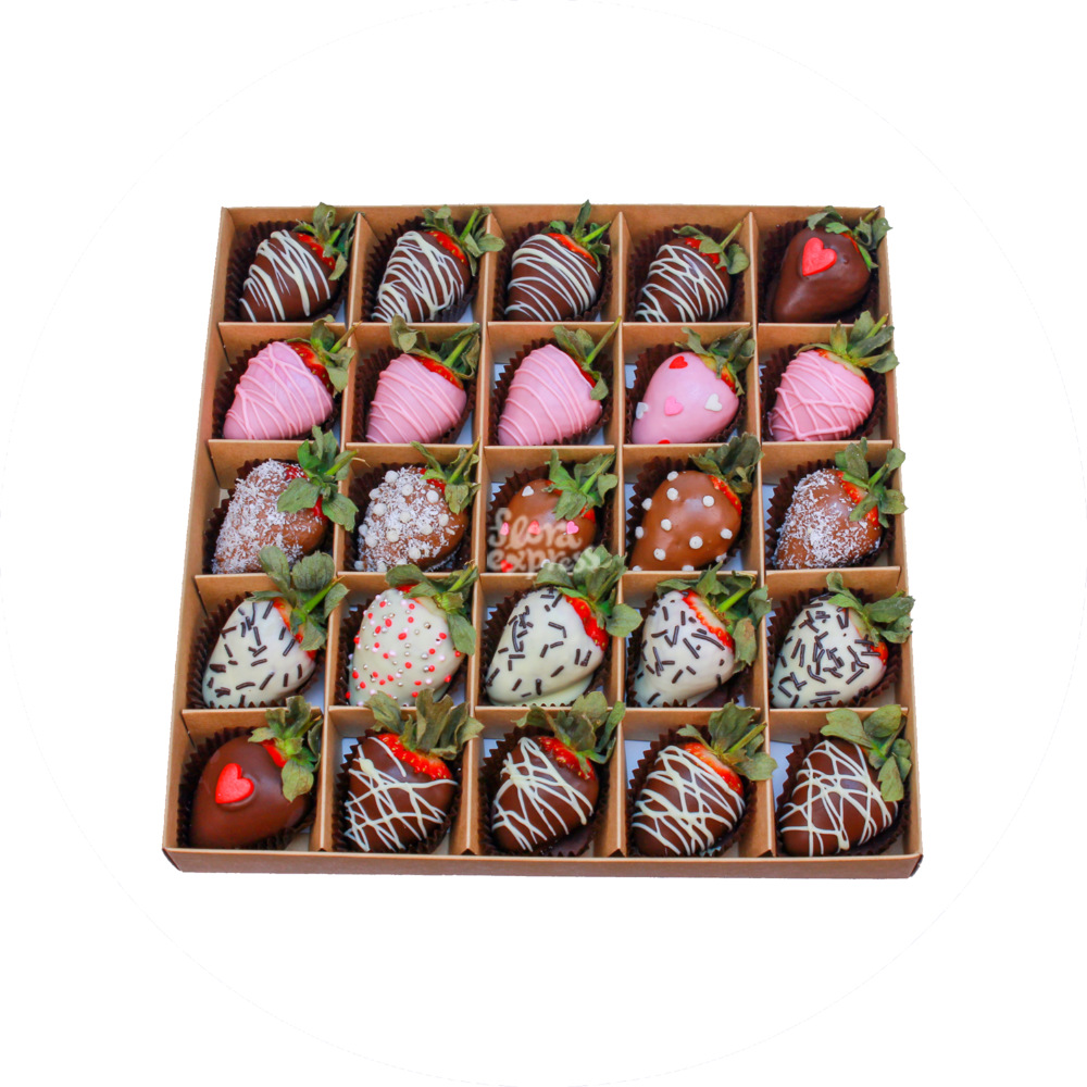 Букет «Flora Express», Клубника в шоколаде 8